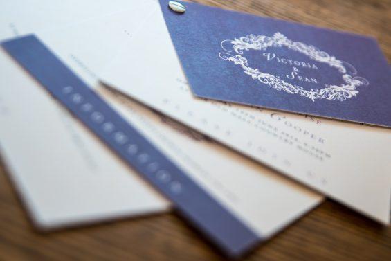 Swatch Style Wedding Invitation